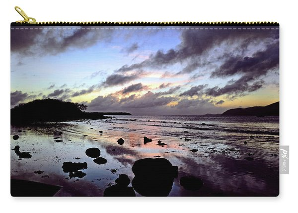 Bright Mirror Of Sunset Light Carry-all Pouch