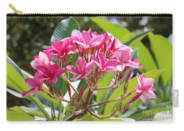 Bright Plumeria Carry-all Pouch