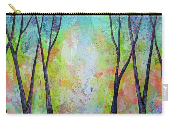 Bright Skies For Dark Days V Carry-all Pouch