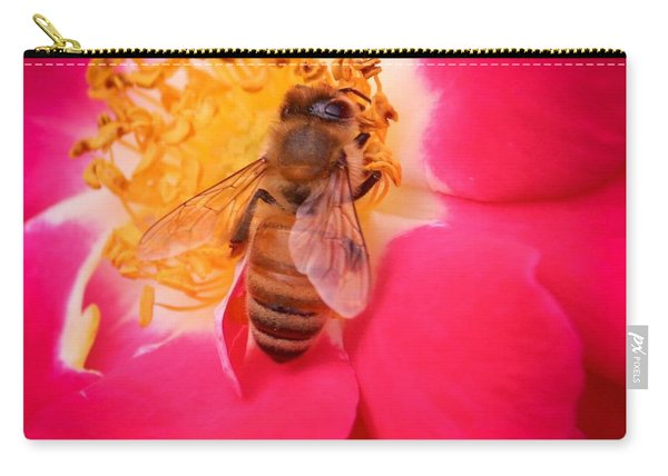 Brilliant Bee Carry-all Pouch
