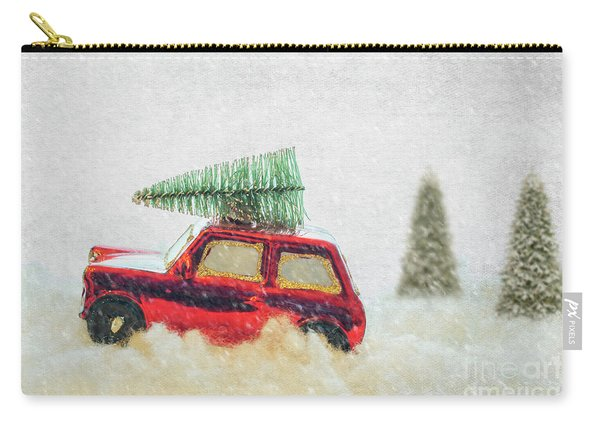 Bringing Christmas Home Carry-all Pouch