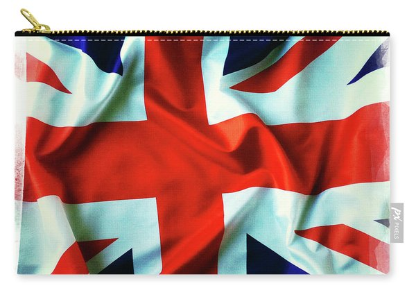British Union Jack Flag  Carry-all Pouch