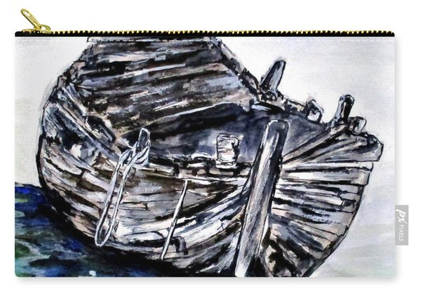 Broken But Afloat Carry-all Pouch