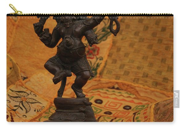 Bronze Ganesha Dancing Carry-all Pouch