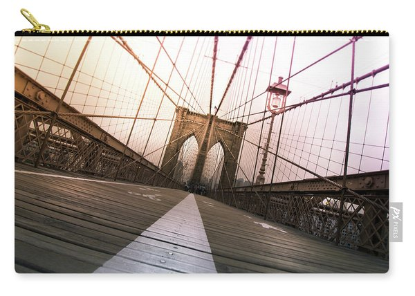 Brooklyn Bridge, New York City Carry-all Pouch