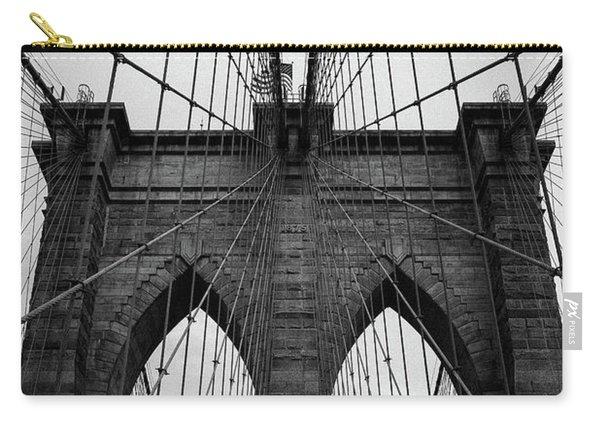 Brooklyn Bridge Wall Art Carry-all Pouch