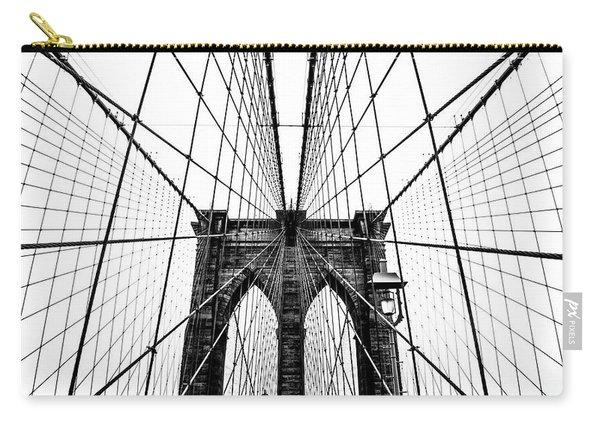 Brooklyn Bridge Web Carry-all Pouch