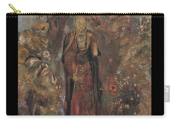 Buddah Walking Among The Flowers, 1905 Carry-all Pouch