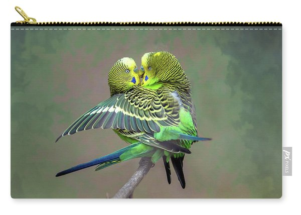 Budgie Love Carry-all Pouch