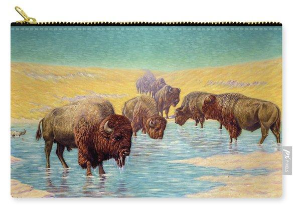 Buffalo Scene, 1922 Carry-all Pouch