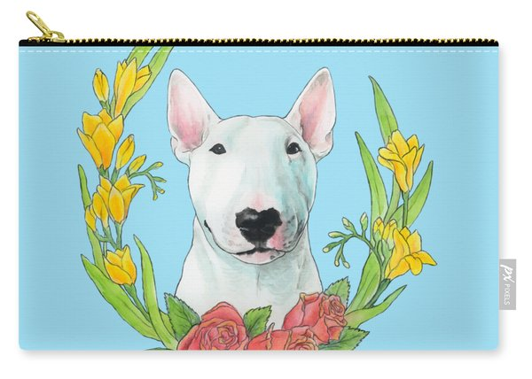 Bull Terrier Ivan Carry-all Pouch