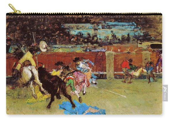 Bullfight, Wounded Picador - Digital Remastered Edition Carry-all Pouch