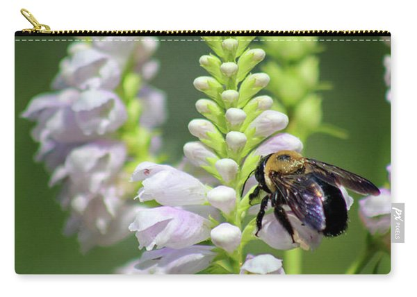 Bumblebee On Obedient Flower Carry-all Pouch