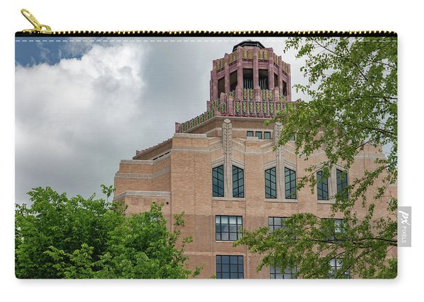 Buncombe County City Hall Carry-all Pouch