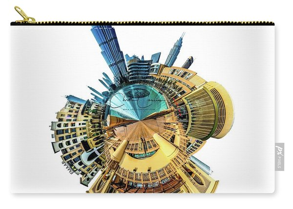 Burj Khalifa Tiny Planet Carry-all Pouch