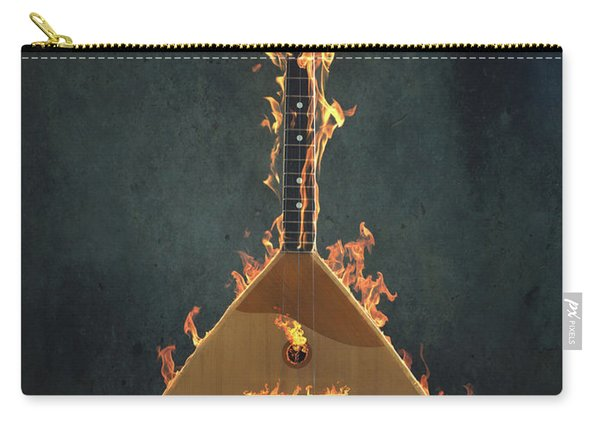 Burning Balalaika Carry-all Pouch