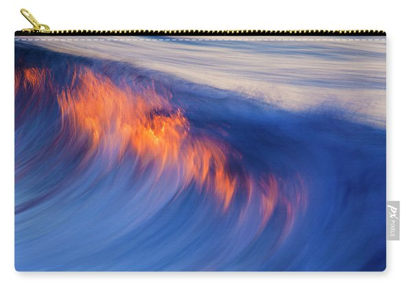 Burning Wave Carry-all Pouch