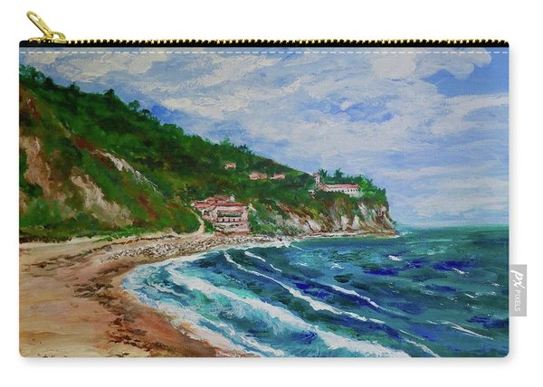 Burnout Beach, Redondo Beach California Carry-all Pouch