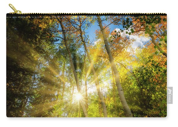 Burst Of Fall Colors Carry-all Pouch