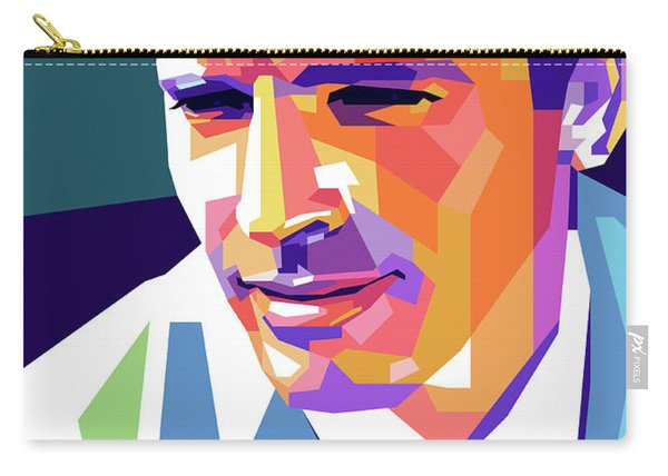 Burt Lancaster Pop Art Carry-all Pouch