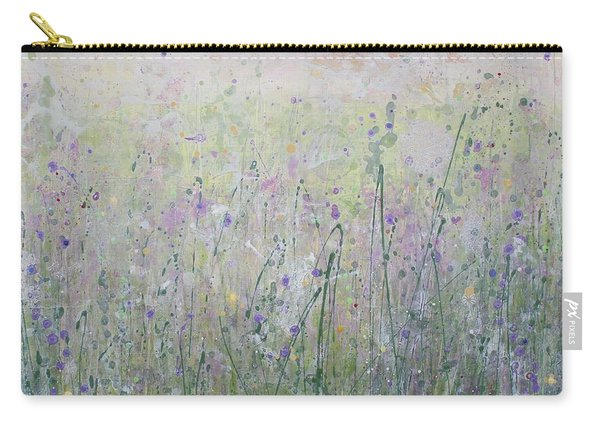 Buttercups And Bluebells Carry-all Pouch