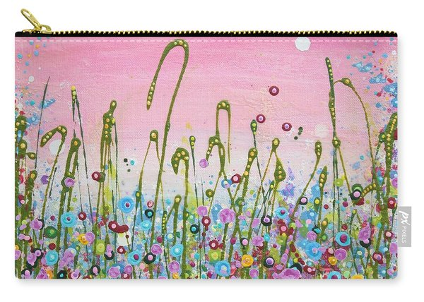 Buttercups And Lilacs Carry-all Pouch