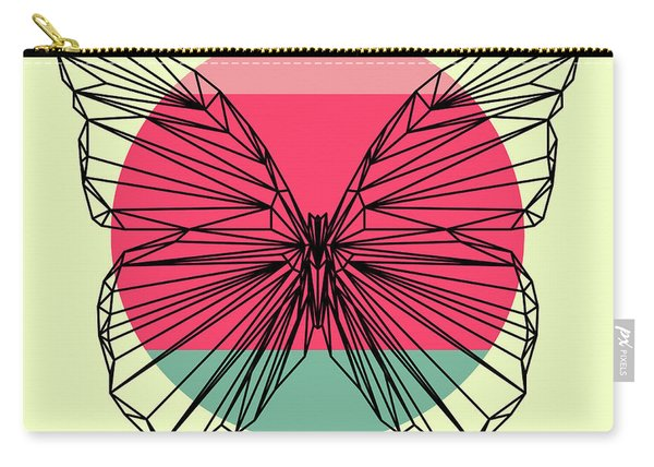 Butterfly And Sunset Carry-all Pouch