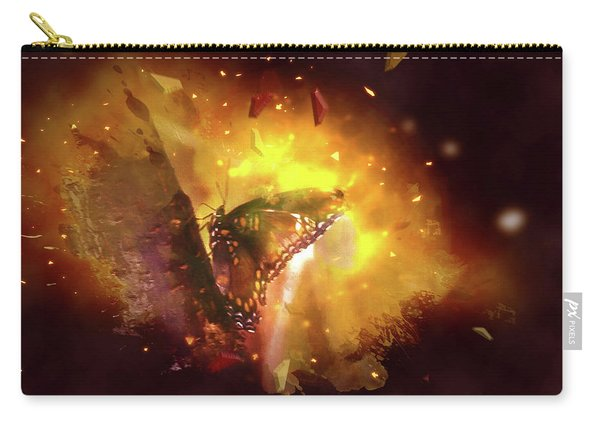 Butterfly Color Explosion. Carry-all Pouch