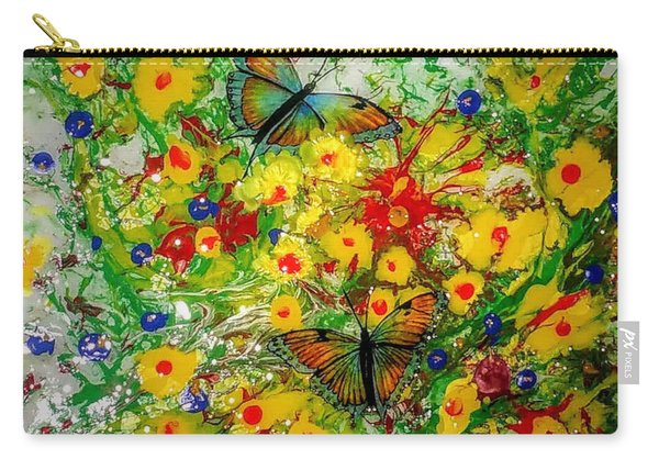 Butterfly Delight Carry-all Pouch