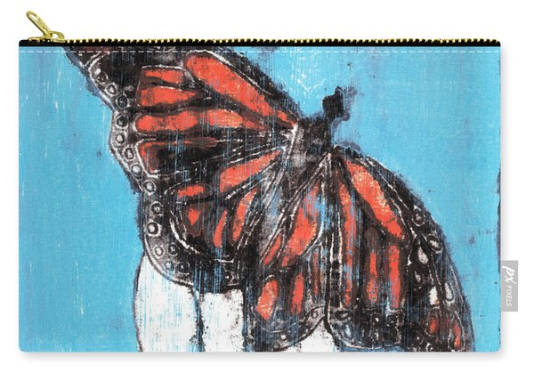 Butterfly Garden Summer 1 Carry-all Pouch