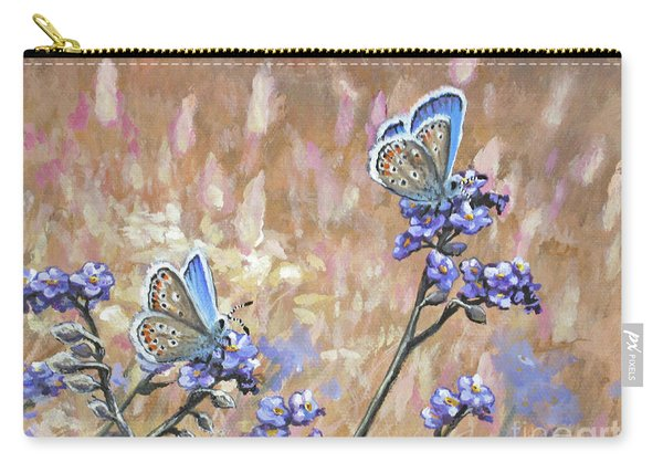 Butterfly Meadow - Part 3 Carry-all Pouch
