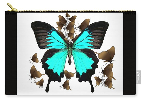 Ulysses Butterfly All A Flutter Carry-all Pouch