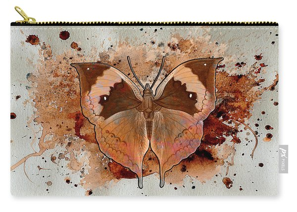 Butterfly Splash Carry-all Pouch