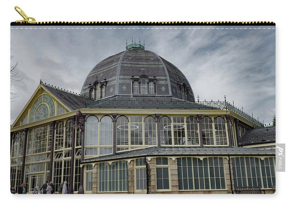 Carry-all Pouch featuring the photograph Buxton Octagon Hall At The Pavilion Gardens by Scott Lyons