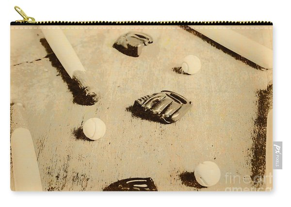 Bygone Baseball Carry-all Pouch