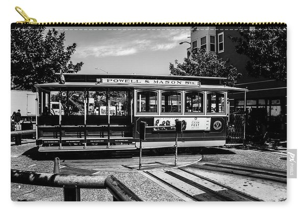 Cable Car Turn Around Carry-all Pouch