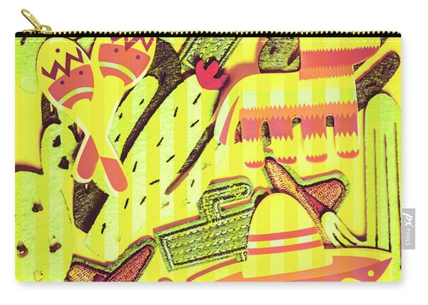 Cactus Carnival Carry-all Pouch