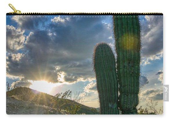 Cactus Portrait  Carry-all Pouch