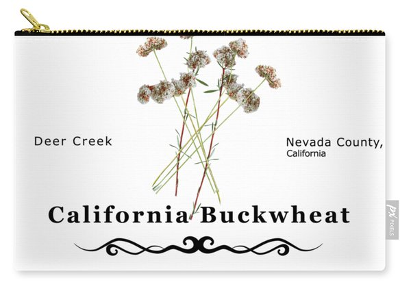California Buckwheat Carry-all Pouch