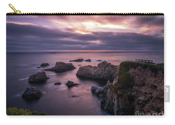 California Coast Evening Mood Carry-all Pouch