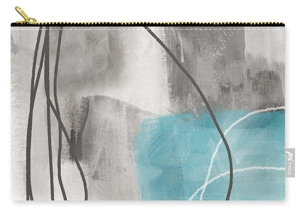 Calm Abstract 1- Art By Linda Woods Carry-all Pouch