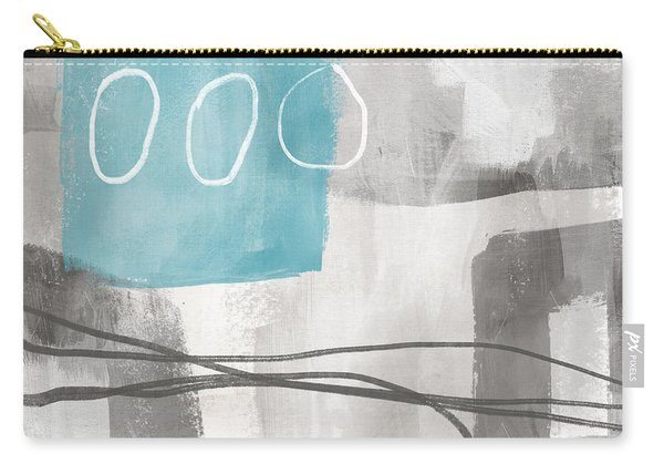 Calm Abstract 2- Art By Linda Woods Carry-all Pouch