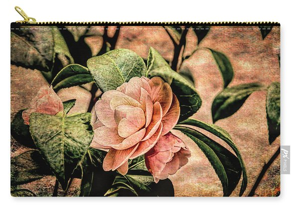 Camellia Grunge Carry-all Pouch