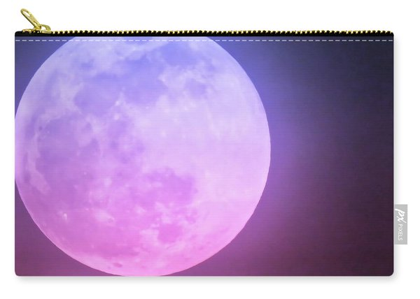 Cancer Super Wolf Blood Moon Near Eclipse Carry-all Pouch