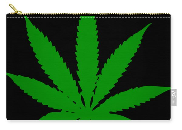 Cannabis Leaf Carry-all Pouch