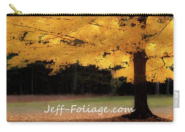 Canopy Of Gold Fall Colors Carry-all Pouch