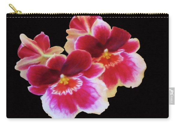 Canvas Violets Carry-all Pouch