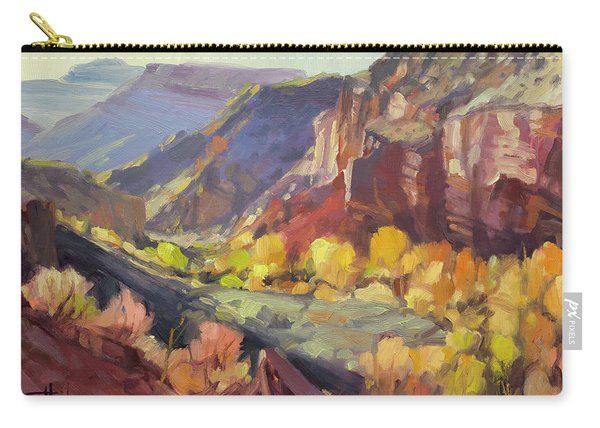 Canyon At Capitol Reef Carry-all Pouch