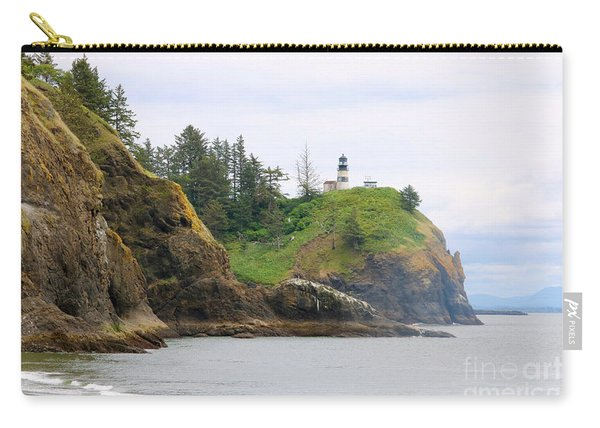 Cape Disappointment With Cliffs Carry-all Pouch