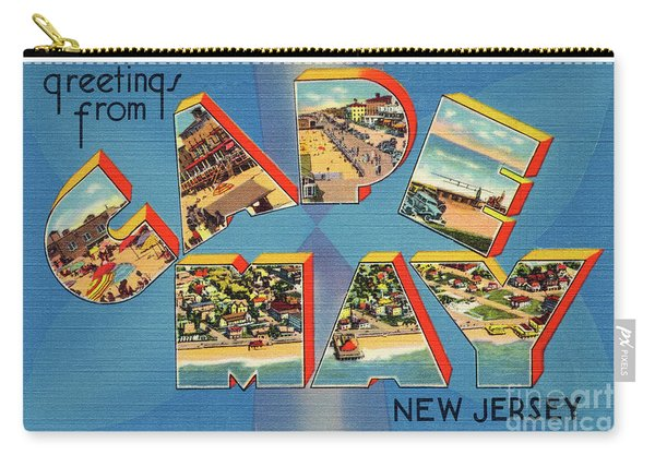 Cape May Greetings - Version 2 Carry-all Pouch